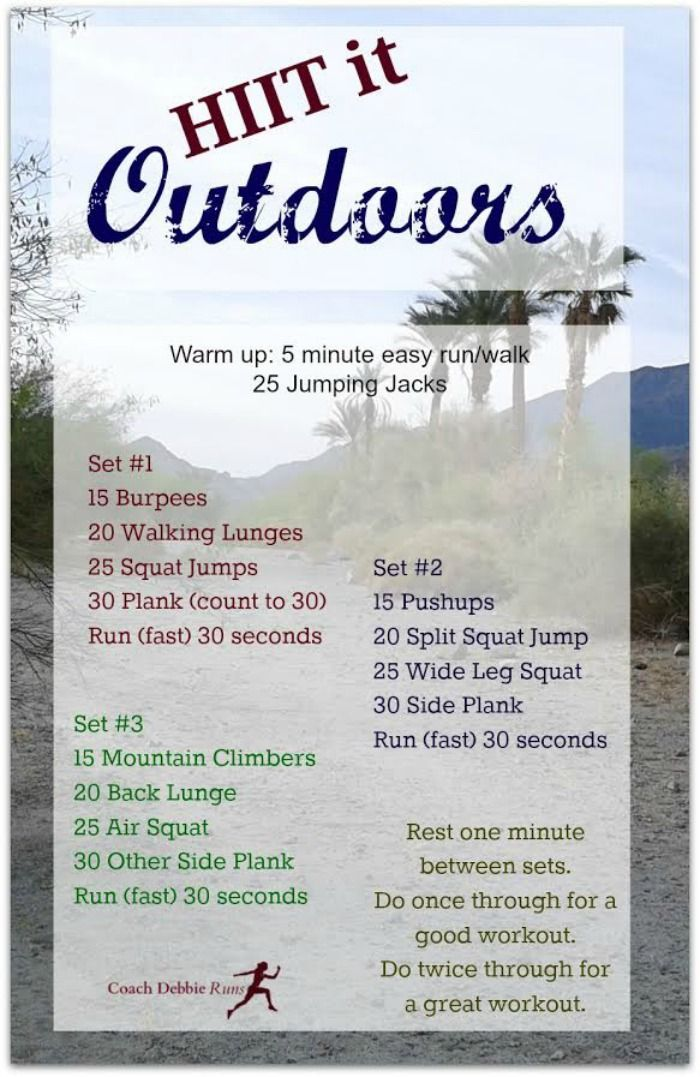 HIIT Workout for Outdoors (plus a giveaway and free samples of Vegan protein from Everalst Nutrition)