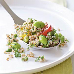 Bulgur Salad with Edamame and Cherry Tomatoes - SBD2