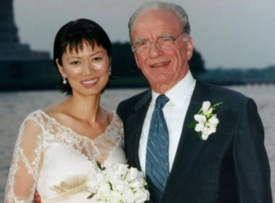 Media mogul Rupert Murdoch speaks for the first time on the rumored affair between his ex-wife, Wendi Deng, and former British Prime Minsiter Tony Blair.