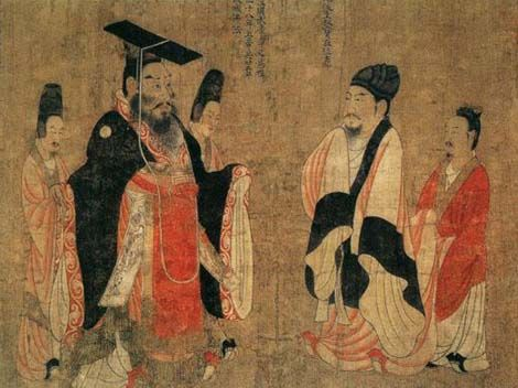 an analysis of the three dynasties in the ancient china Ancient china and it's geography most of china's history has been shaped by its geography china is a giant country almost surrounded by natural barriers.