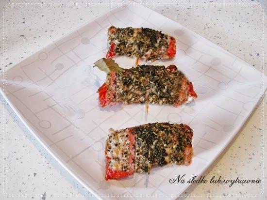 Na słodko lub wytrawnie: Schabowe roladki z boczkiem i suszonymi pomidorami...