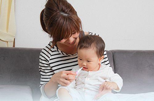 【虫歯と歯周病】予防!赤ちゃん用歯磨きジェル
