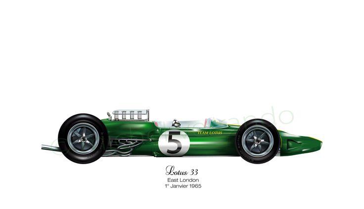 Lotus 33 - East London - 1965