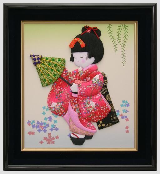 Japanese craft oshie kamuro japanese doll oshie for Japan craft