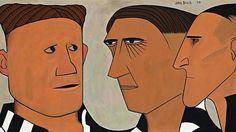 John Brack, 'Three of the Players' (1953)…