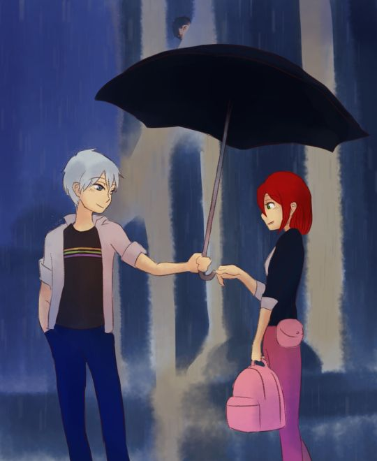 OMG IM DYING TGESE CROSSOVERS THO!!! Akagami no Shirayukihime/Snow White with the Red Hair Shirayuki X Zen #anime #manga AND Miraculous Ladybug Marinette X Adrien >_< <3