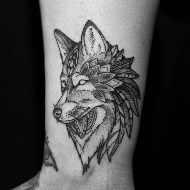 107 best wolf tattoo ideas images on pinterest 30th bjd. Black Bedroom Furniture Sets. Home Design Ideas
