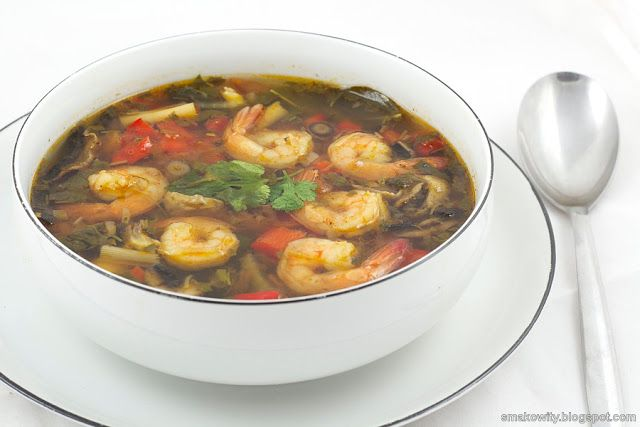 Tom Yum Goong Soup | Smakowity blog | Pinterest