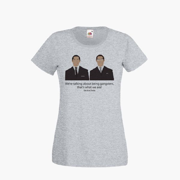 Legend Kray Twins Ronald Reggie Tom Hardy Movie T SHIRT Womens Girls S-2XL New