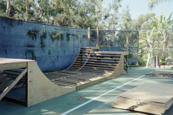 how to build a small skateboard ramp