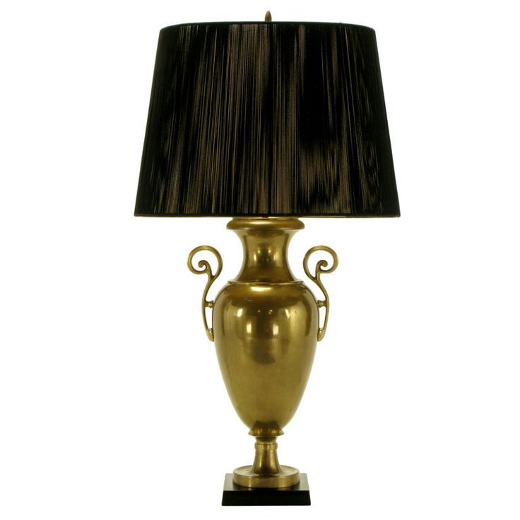 Circa 1972 chapman brass urn form table lamp