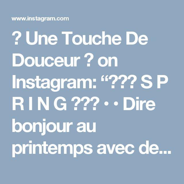 """🌸 Une Touche De Douceur 🌸 on Instagram: """"🌸💕🌸 S P R I N G 🌸💕🌸 • • Dire bonjour au printemps avec des bouquets de Poom et des PoomCloud aux couleurs pastels 💕 • • Belle journee Jolie…"""""""