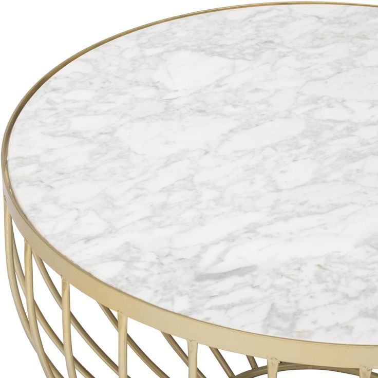 Marble Top Coffee Table - Coffee Tables - Accent Tables - Furniture