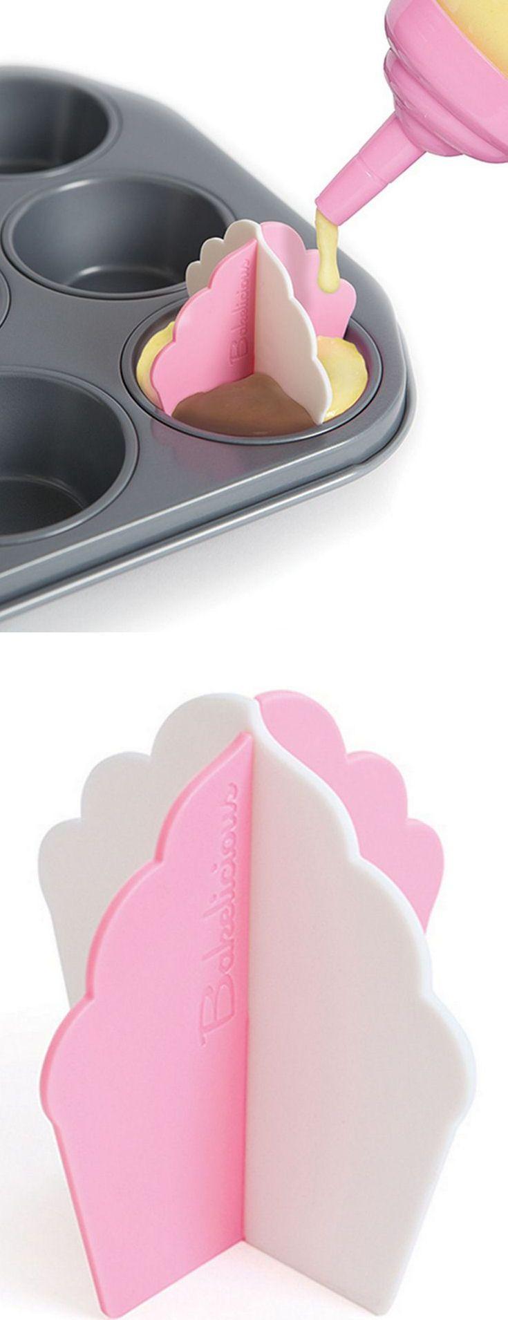 Cupcake Dividers | Make Amazing Multi-Flavor Cup Cakes #genius