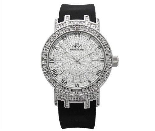 Super Techno 0.08ctw Ladies Diamond Watch I5514