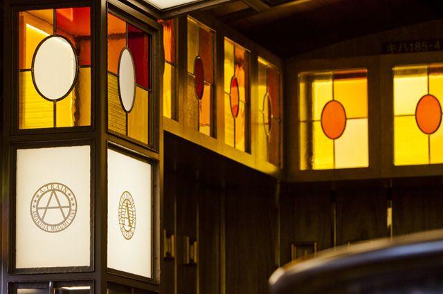 A列車で行こう | ステンドグラスの企画・設計・制作・施工ならクレアーレ