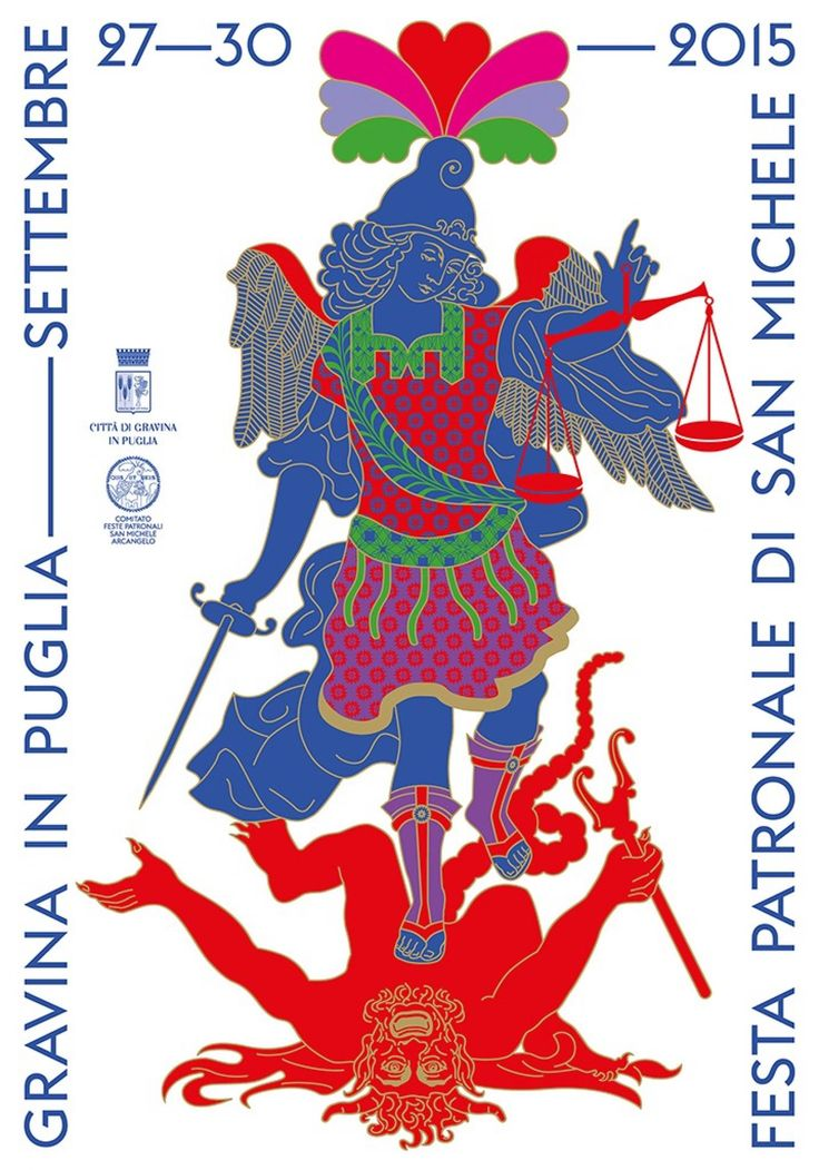 Poster for the Saint Michael Patronal festival - AGI