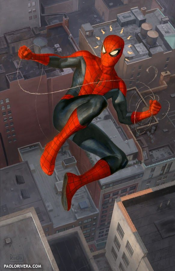 A collection of Marvel comic book artwork from the golden age of comics to the present.