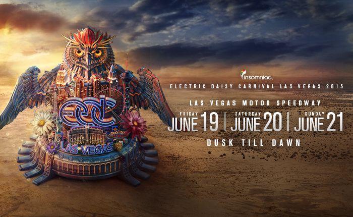 EDC Las Vegas 2015 Lineup Released (Owlmost)