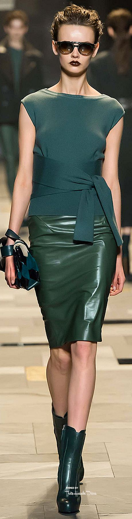 Green we love, the favorites of StoresConnect.nl, be inspired! Trussardi Fall 2015