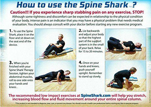 Amazon.com: La descompresión espinal en casa - la columna vertebral tiburón Nuevamente Pain Relief Products: Salud y Cuidado personal