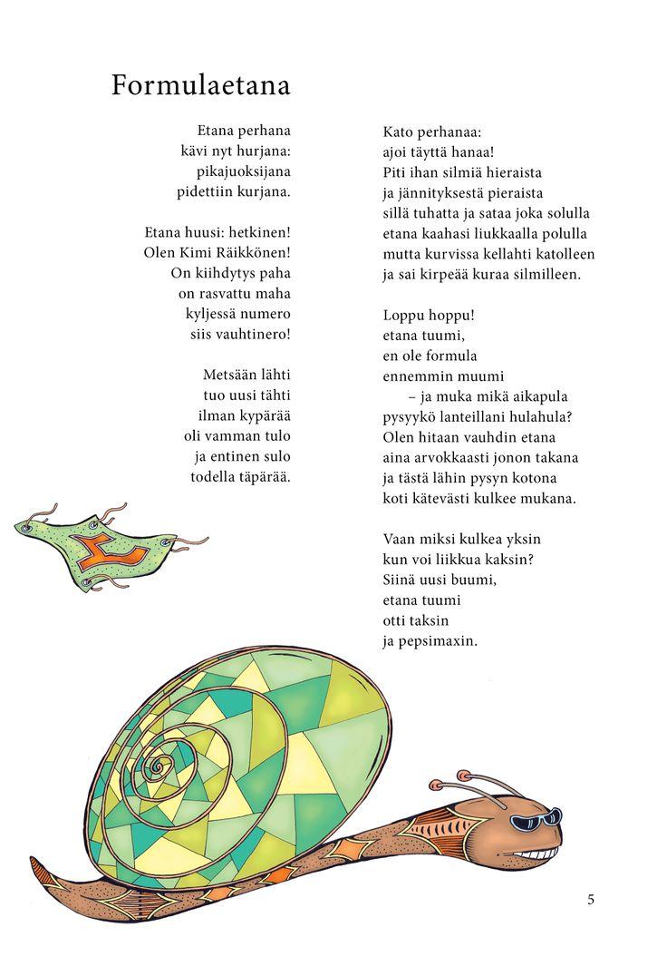 Formulaetana (Jari Tammi: Nakkikirja, Pikku-idis 2013)