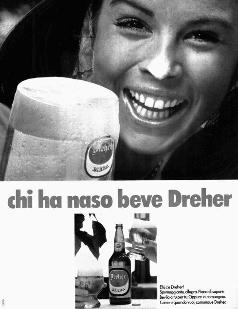 Pubblicità Birra Dreher