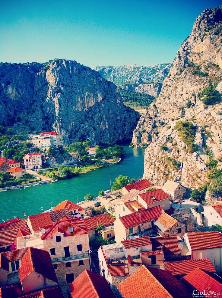Rzeka Cetina w Omišu || http://crolove.pl/25-zdjec-ktore-sprawia-ze-zakochasz-sie-w-chorwacji/ || #Chorwacja #Croatia #Hrvatska #Kroatien #Photos