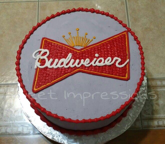 Budweiser Cake My Cakes My Work Www