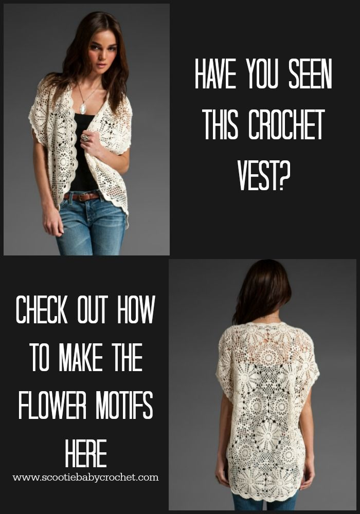 Free motif pattern for this gorgeous vest!