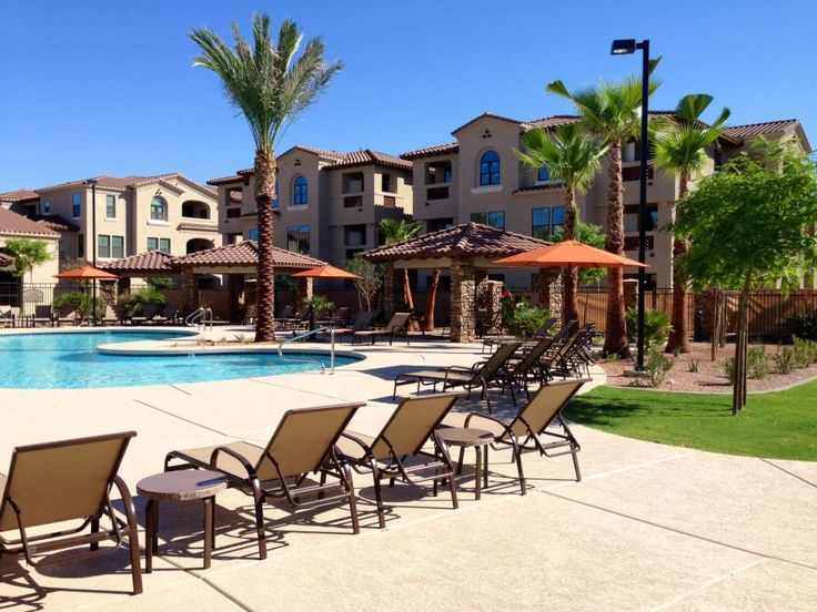 Hang Out By The Pool On A Warm, Arizona Day