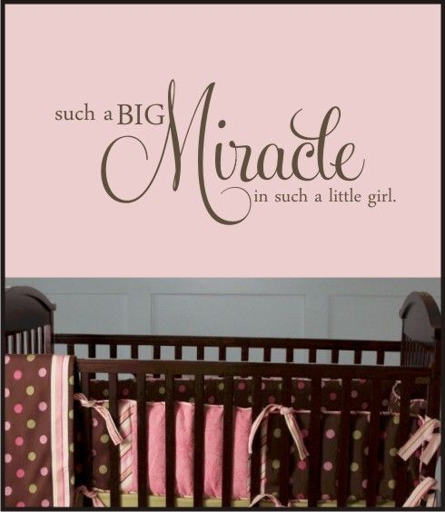 Every baby girl IS a miracle!