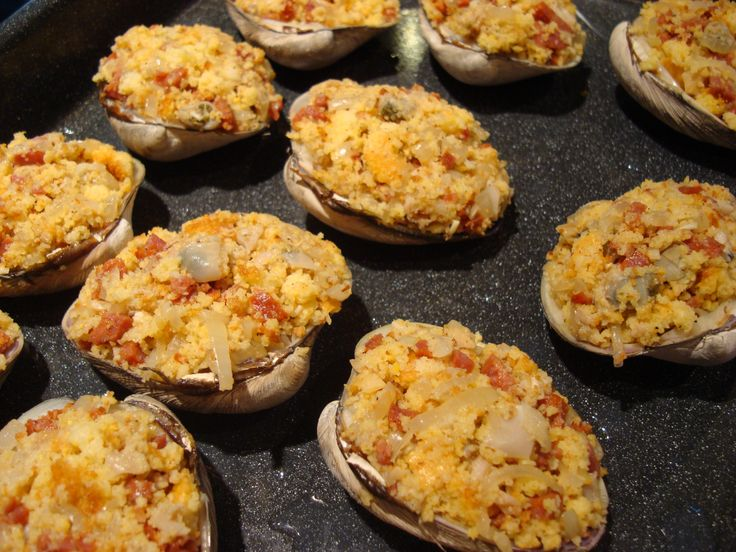 1000+ images about Stuffed quahogs on Pinterest | Stuffed Clam, New ...