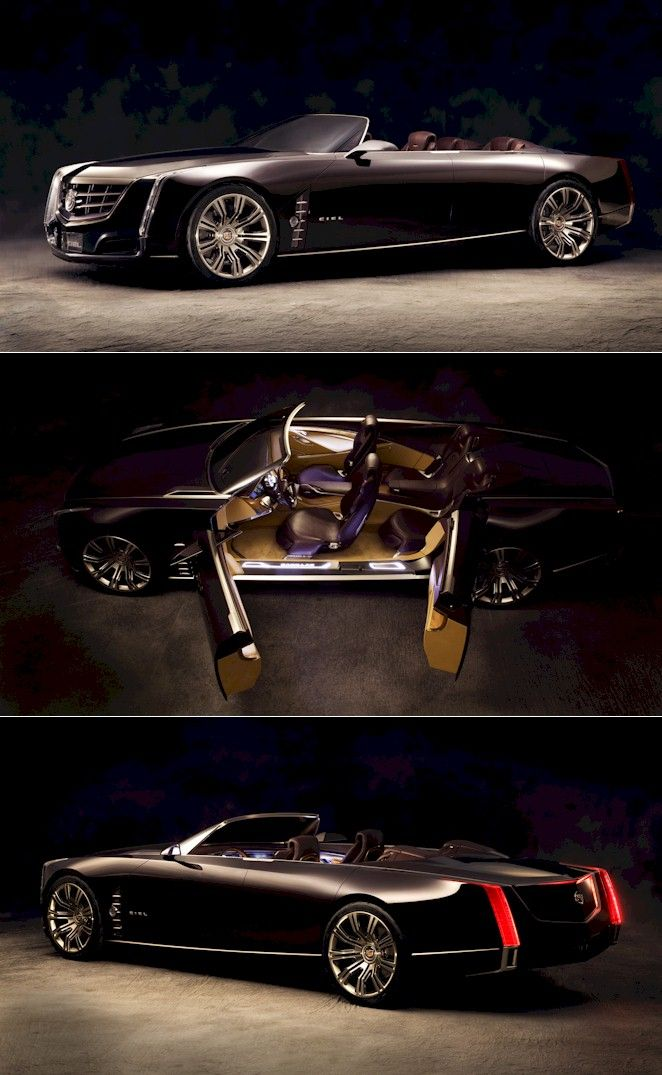 Cadillac Ciel concept car -- If Caddy could actually make this work, re-badge it as an Eldorado or Biarritz as an homage to the great late 50's Cadillac, and keep it under $75K, they would have a 12-month wait list for years.