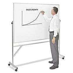 Rolling Whiteboards, Mobile Whiteboards, Portable Whiteboards in Stock - ULINE