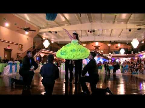 Elizabeth Torres  Quinceanera by Dulce's Choreography - YouTube