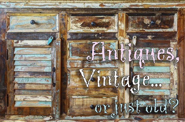 "Old doesn't necessary mean ""antique."" How do you determine a piece's true value? #PBSGblogs #antiques #vintage #rarity #provenance"