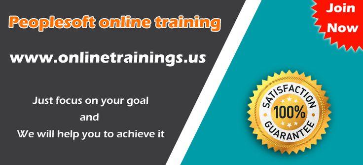 Peoplesoft Onlline Training institutes in Hyderabad, Ameerpet, India.  Visit: www.training-institutes-in-hyderabad.com