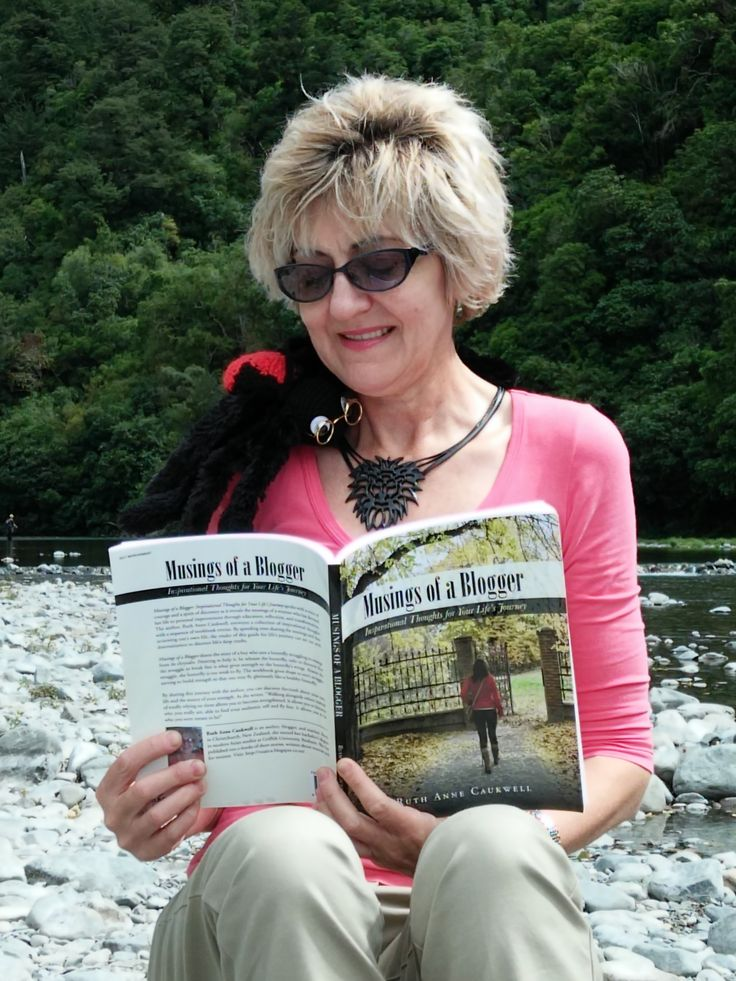 Ruth Caukwell (Inspirational author & blogger) with our mascot Spinner in New Zealand. Find her on ruanca.caukwell.com