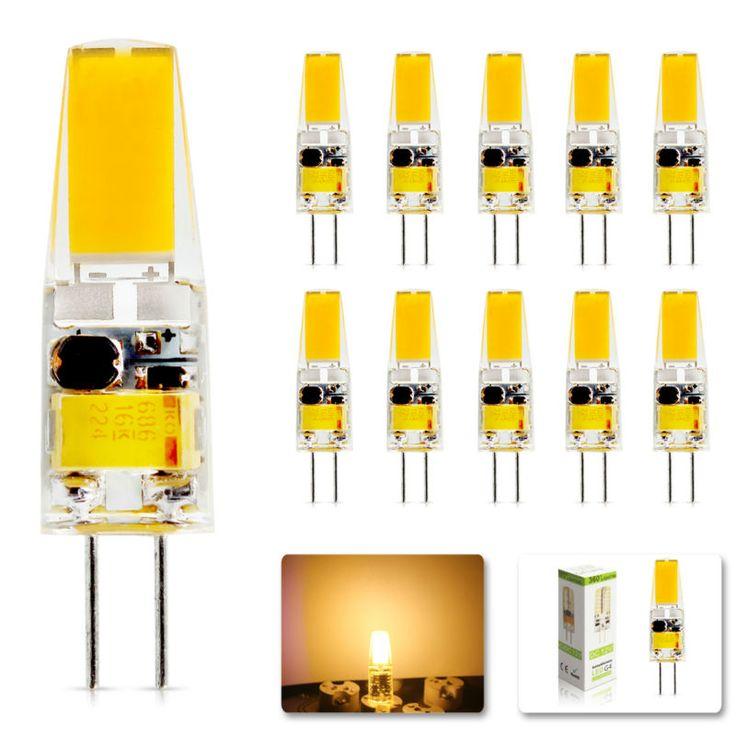 10 teile los 2017 g4 ac dc 12 v led dimmbare lampe lampe smd 6 watt ersetzen halogen lampe licht. Black Bedroom Furniture Sets. Home Design Ideas