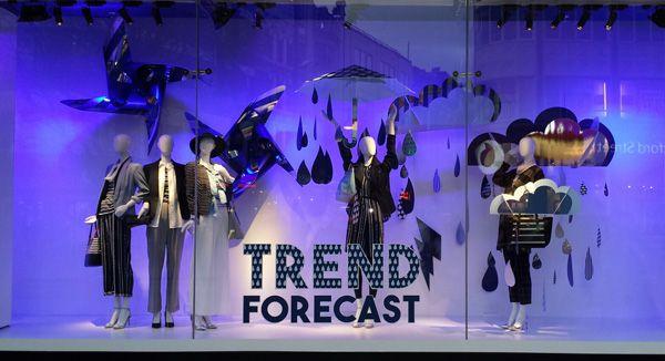Debenhams - Trend Forecast - Retail Focus - Retail Interior Design and Visual Merchandising