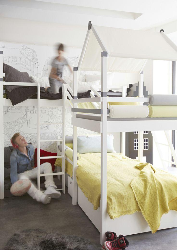 Isa mo chambre vibel pour 2 garçons vibels room for 2 boys