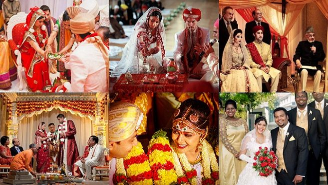 Indian Weddings Reflect Diversity Of Varied Indian Religious & Regional Customs!