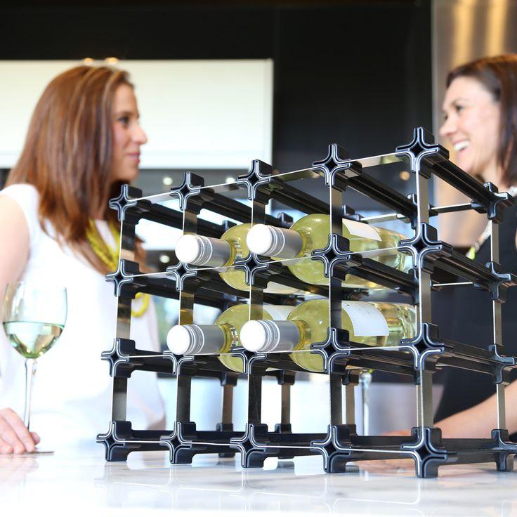 Countdown! Ab Mitte November gibt es die NOOK Weinregale auch in Europa zu bestellen!  Das NOOK Weinregal setzt sich aus vielen kleinen Modulen zusammen und kann so auch passgenau unter die Kellertreppe, in eine Gebäudenische, eine Abseite oder einen Erker - praktisch in jede räumliche Gegebenheit eingepasst werden.