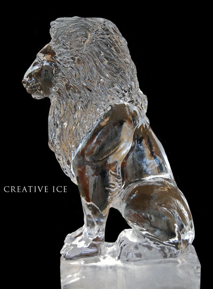 Creative Ice Sculptures | Ice Sculptures | Ice Sculptures | Lion Ice Sculpture | Creative Ice ...