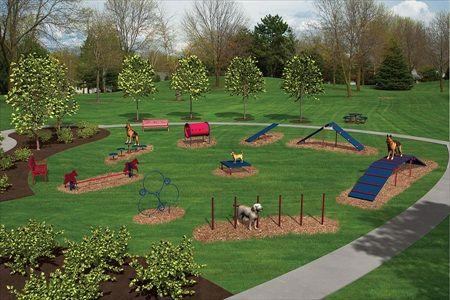 Expert Dog Park Kit | Dog Playground Equipment by BYO.