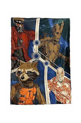 Blankets and Throws 66727: Twin Full Throw 62 X 90 Guardians Of The Galaxy Plush Polyester Blanket -> BUY IT NOW ONLY: $47.64 on eBay!