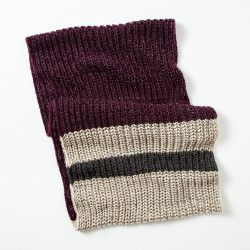 Roots - Chunky Cabin Infinity Scarf