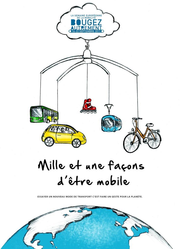 Affiche semaine de la mobilité