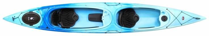 Amazon.com: Old Town 15-Feet 3-Inch Dirigo Tandem Plus Recreational Double Kayak (Cloud): Sports & Outdoors